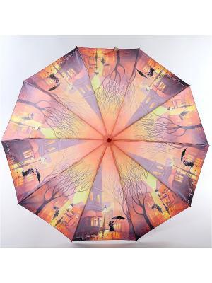 Зонт Zest. Цвет: фиолетовый, желтый, персиковый