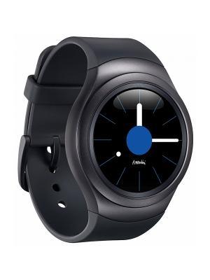 Смарт-часы SM-R720 GearS2 Sport black Samsung. Цвет: черный