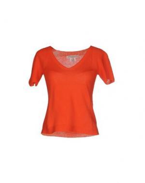 Свитер MARIA DI RIPABIANCA. Цвет: оранжевый