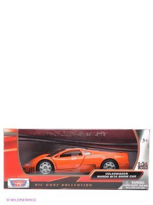 Машинка коллекционная Volkswagen Nardo W12 Show Car в масштабе 1к24 Motormax. Цвет: оранжевый