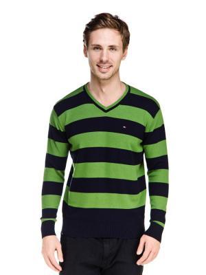 Пуловер VipDressCode. Цвет: зеленый