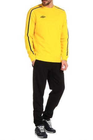 Костюм спортивный Umbro. Цвет: желтый
