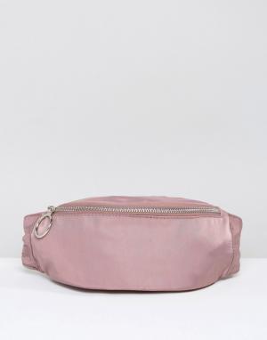 ASOS Сумка-кошелек на пояс LIFESTYLE. Цвет: розовый