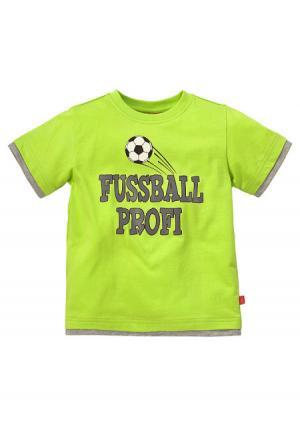 Футболка Colors for Life. Цвет: неоновый зеленый