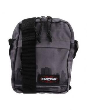 Сумка через плечо EASTPAK. Цвет: свинцово-серый