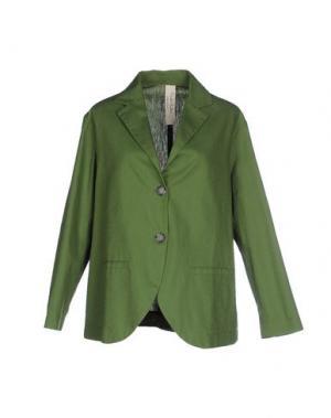 Пиджак DANIELA PANCHERI. Цвет: зеленый