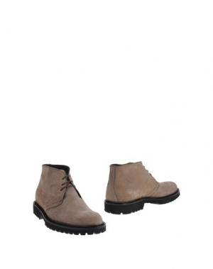 Полусапоги и высокие ботинки BORGO MEDICEO. Цвет: песочный