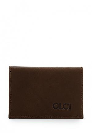 Кредитница Olci. Цвет: коричневый