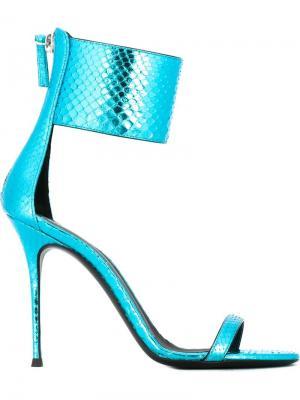 Босоножки Brittany Giuseppe Zanotti Design. Цвет: синий