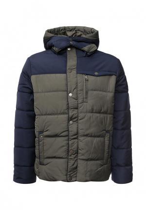 Куртка утепленная E-Bound. Цвет: хаки