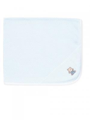 Одеяло Ласковый мишка Little Me. Цвет: голубой