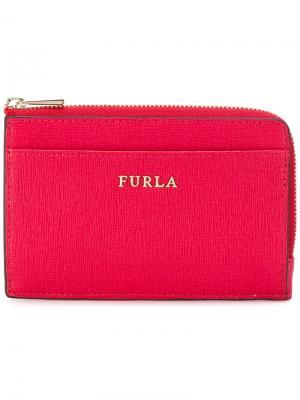 Кошелек на молнии Furla. Цвет: розовый и фиолетовый