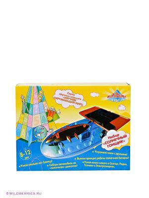 Игровой набор Солнечный гонщик Пирамида открытий. Цвет: синий
