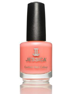 Лак для ногтей  # 674 Enchantress, 14,8 мл JESSICA. Цвет: персиковый