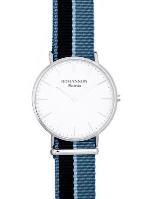 Часы TL6A30MM Romanson. Цвет: синий, серебристый
