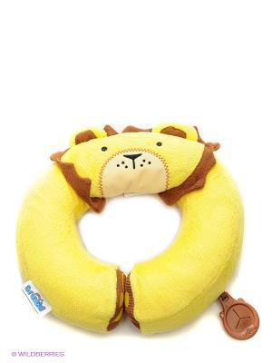 Подголовник Yondi Lion TRUNKI. Цвет: желтый