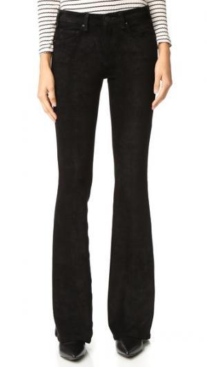 Расклешенные брюки Majorelle из искусственной замши McGuire Denim. Цвет: искусственная замша