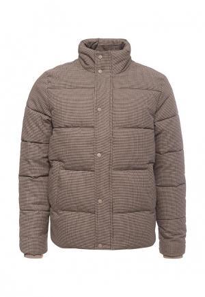 Куртка утепленная Topman. Цвет: бежевый