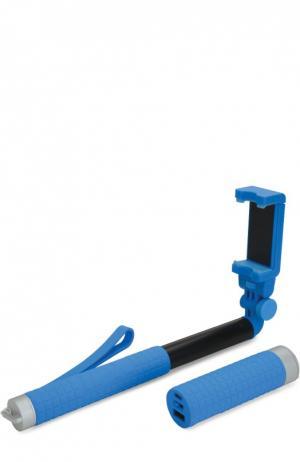 Монопод со съемным аккумулятором на 2800 mAh Yell. Цвет: синий