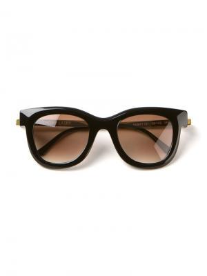 Солнцезащитные очки Nudity Thierry Lasry. Цвет: чёрный