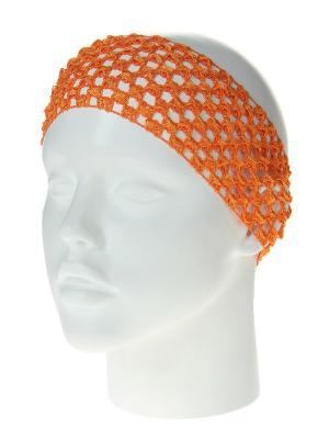 Повязка на голову Infiniti. Цвет: оранжевый