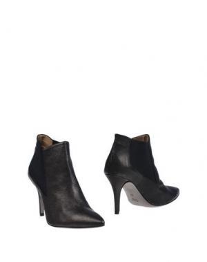 Полусапоги и высокие ботинки U-TURN. Цвет: стальной серый