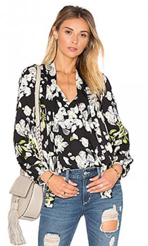 Блузка sophie Lucca Couture. Цвет: черный