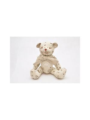 Медвежонок Кубеба KUBEBA. Цвет: бежевый, белый, коричневый
