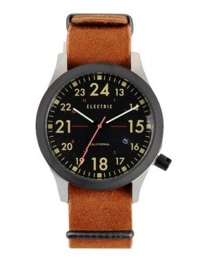 Наручные часы ELECTRIC. Цвет: коричневый