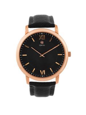Часы ювелирные коллекция Q-Style, QWILL, Часовой завод Ника QWILL. Цвет: черный