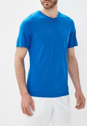 Футболка спортивная Wilson. Цвет: синий