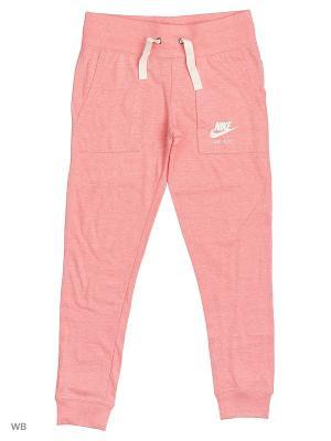 Брюки G NSW VNTG PANT Nike. Цвет: оранжевый