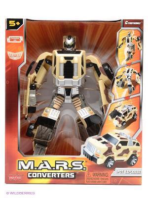 Робот трансформер - спорт Hap-P-Kid. Цвет: бежевый, серый, черный