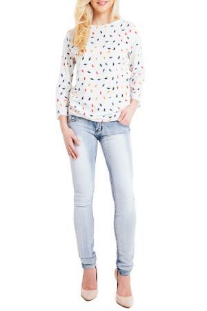 Блуза LOU-LOU. Цвет: multicolor