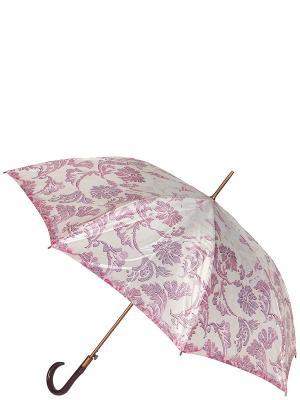 Зонт-трость Eleganzza. Цвет: сиреневый, бежевый, лиловый