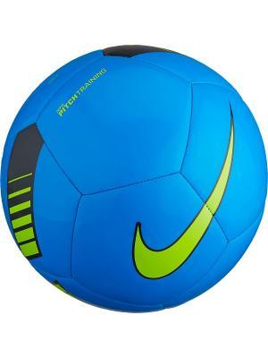 Мяч NK PTCH TRAIN Nike. Цвет: синий