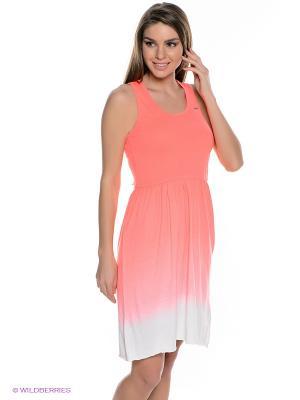 Платье Icepeak. Цвет: коралловый