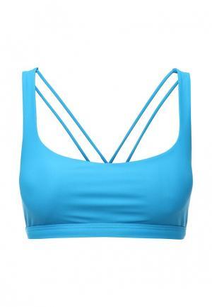 Топ спортивный Urban Yoga. Цвет: голубой