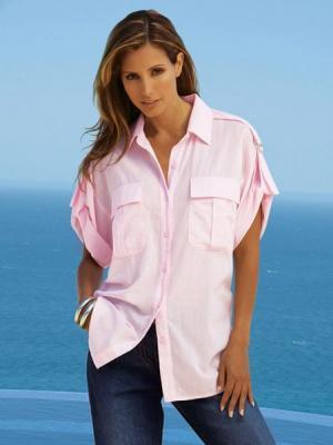 Блузка Together. Цвет: персиковый