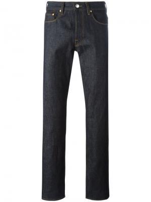 Широкие джинсы Ps By Paul Smith. Цвет: синий