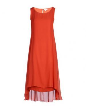 Короткое платье GOSSIP. Цвет: ржаво-коричневый