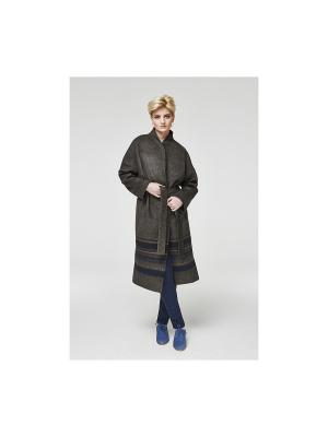 Пальто Gamelia. Цвет: серый