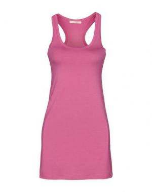 Короткое платье NIOI. Цвет: фуксия