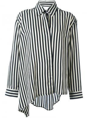 Асимметричная рубашка Tal Christian Wijnants. Цвет: чёрный