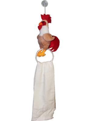 Комплект игрушка петушок с полотенцем 29*68 см. Dorothy's Нome. Цвет: светло-бежевый