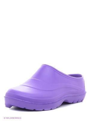 Галоши Janett. Цвет: фиолетовый
