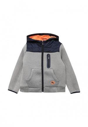 Куртка Blukids. Цвет: серый