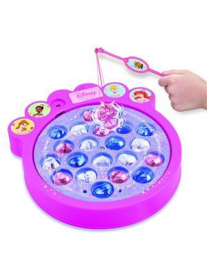 Настольная игра Поймай драгоценные камни Disney Принцессы SPIN MASTER. Цвет: розовый