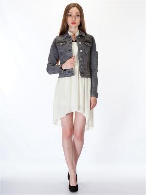 Куртка HELLO MODA!. Цвет: серый