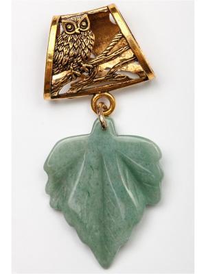 Кулон-украшение для платка Anastasiya Usoltseva. Цвет: зеленый, бирюзовый, светло-зеленый